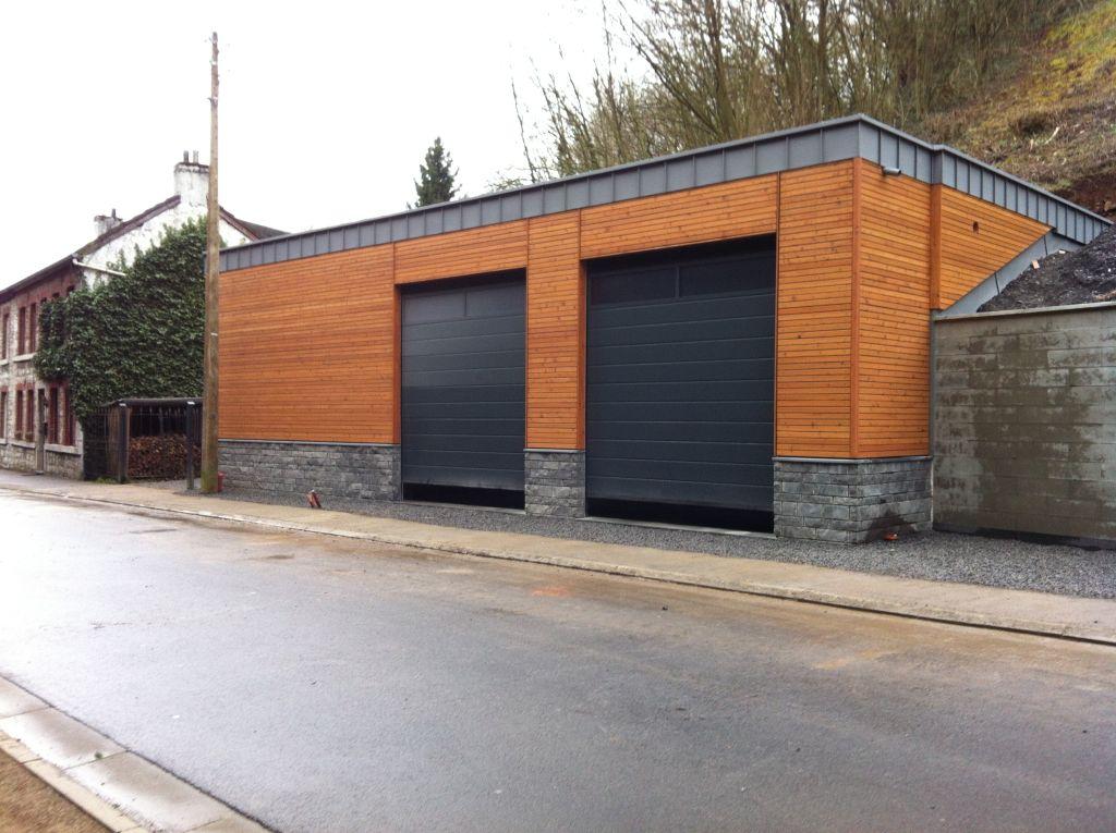 kalff bau neubau garage und seminarraum kelmis. Black Bedroom Furniture Sets. Home Design Ideas